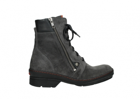 wolky lace up boots 07640 partizan 40210 anthracite suede_24