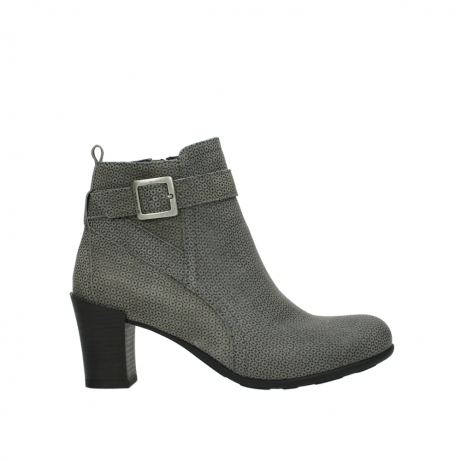 wolky ankle boots 07749 raquel 90153 taupe printed suede