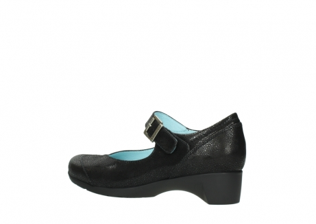 wolky court shoes 07808 opal 90070 black nubuck_3