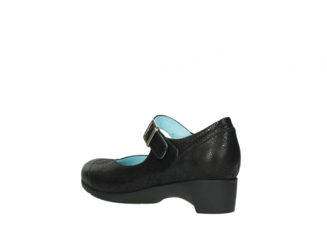 wolky court shoes 07808 opal 90070 black nubuck_4