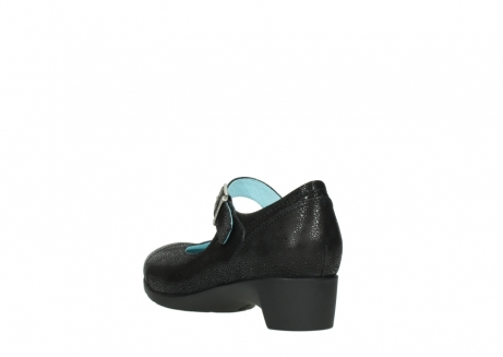 wolky court shoes 07808 opal 90070 black nubuck_5