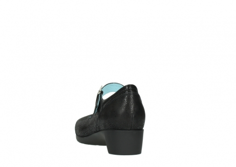 wolky court shoes 07808 opal 90070 black nubuck_6