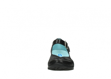 wolky court shoes 07808 opal 90070 black nubuck_19