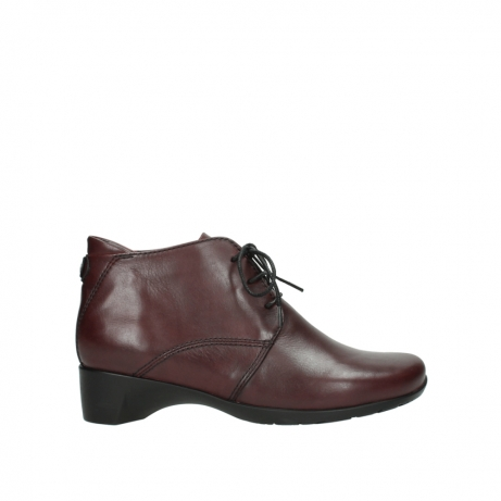 wolky bottines 07821 zircon 20510 cuir bordeaux