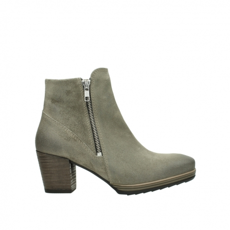 wolky ankle boots 08031 pantua 40151 taupe suede