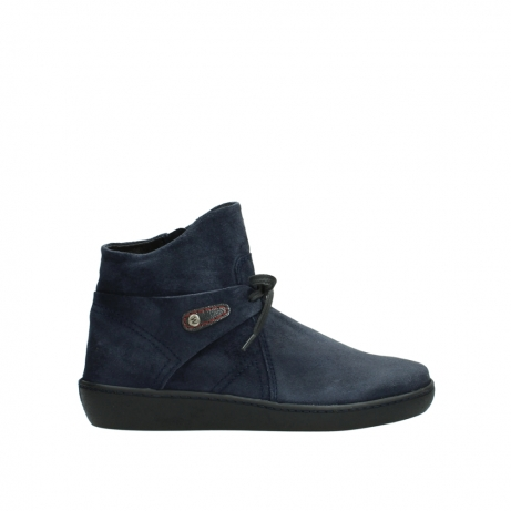 wolky ankle boots 08127 pharos 40801 blue suede