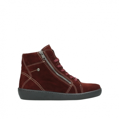 wolky lace up boots 08130 zeus 40510 burgundy suede
