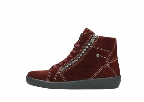 wolky lace up boots 08130 zeus 40510 burgundy suede_1