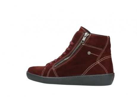 wolky lace up boots 08130 zeus 40510 burgundy suede_2