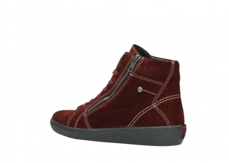 wolky lace up boots 08130 zeus 40510 burgundy suede_3