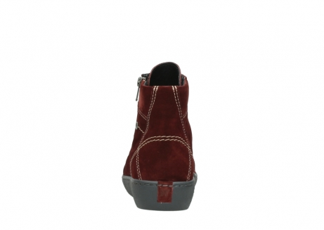 wolky lace up boots 08130 zeus 40510 burgundy suede_7