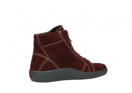 wolky lace up boots 08130 zeus 40510 burgundy suede_11