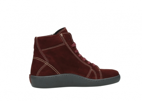 wolky lace up boots 08130 zeus 40510 burgundy suede_12