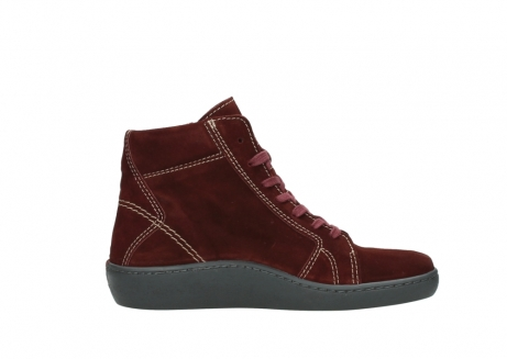 wolky lace up boots 08130 zeus 40510 burgundy suede_13