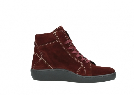 wolky lace up boots 08130 zeus 40510 burgundy suede_14