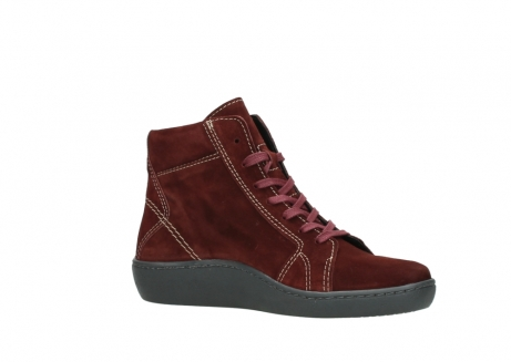 wolky lace up boots 08130 zeus 40510 burgundy suede_15