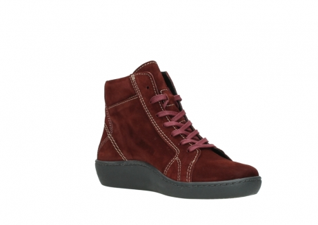 wolky lace up boots 08130 zeus 40510 burgundy suede_16