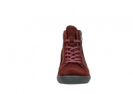 wolky lace up boots 08130 zeus 40510 burgundy suede_19