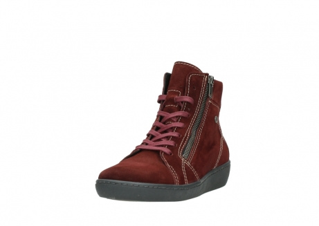 wolky lace up boots 08130 zeus 40510 burgundy suede_21