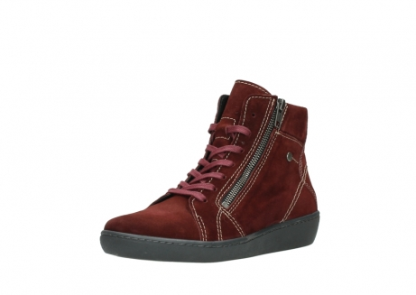 wolky lace up boots 08130 zeus 40510 burgundy suede_22