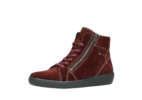 wolky lace up boots 08130 zeus 40510 burgundy suede_23