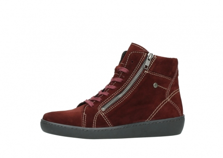 wolky lace up boots 08130 zeus 40510 burgundy suede_24