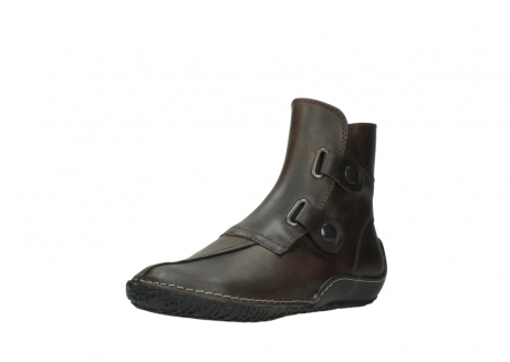 wolky ankle boots 08305 circle 50300 brown olied leather_22