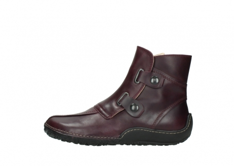wolky ankle boots 08305 circle 50510 burgundy oiled leather_1