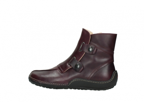 wolky ankle boots 08305 circle 50510 burgundy oiled leather_2