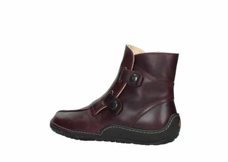 wolky ankle boots 08305 circle 50510 burgundy oiled leather_3