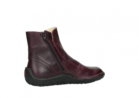 wolky ankle boots 08305 circle 50510 burgundy oiled leather_11