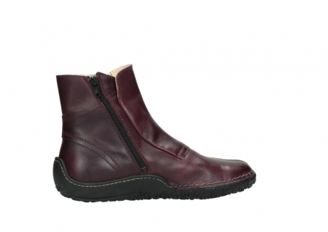 wolky ankle boots 08305 circle 50510 burgundy oiled leather_12