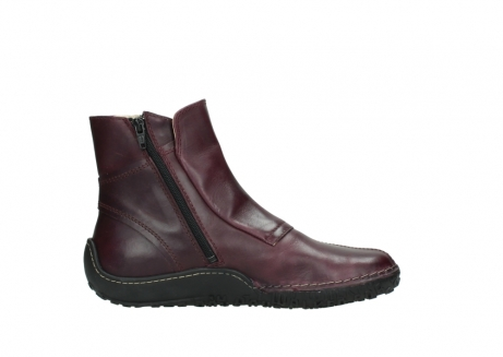 wolky ankle boots 08305 circle 50510 burgundy oiled leather_13
