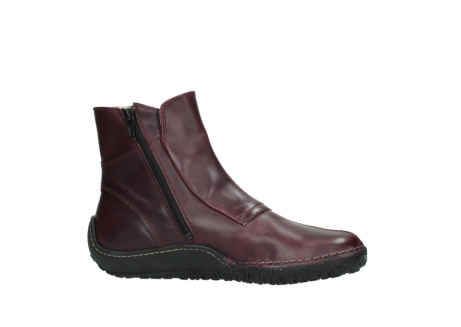 wolky ankle boots 08305 circle 50510 burgundy oiled leather_14