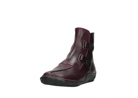 wolky ankle boots 08305 circle 50510 burgundy oiled leather_21