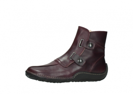 wolky ankle boots 08305 circle 50510 burgundy oiled leather_24
