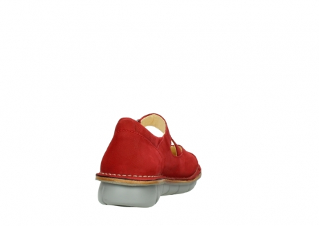 wolky mary janes 08389 cordoba 10500 red nubuck_8