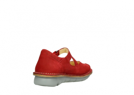 wolky mary janes 08389 cordoba 10500 red nubuck_9
