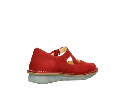 wolky mary janes 08389 cordoba 10500 red nubuck_10