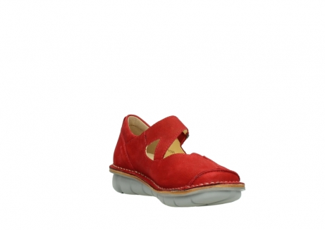 wolky mary janes 08389 cordoba 10500 red nubuck_17