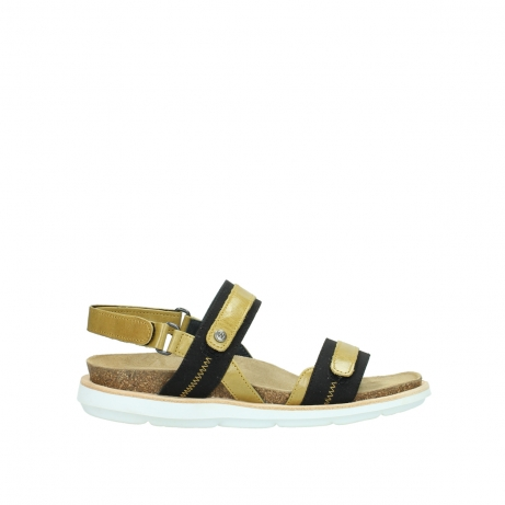 wolky sandalen 08479 dolomite 30920 light yellow leather