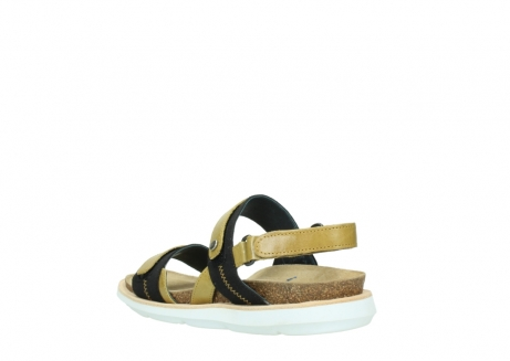 wolky sandalen 08479 dolomite 30920 light yellow leather_4