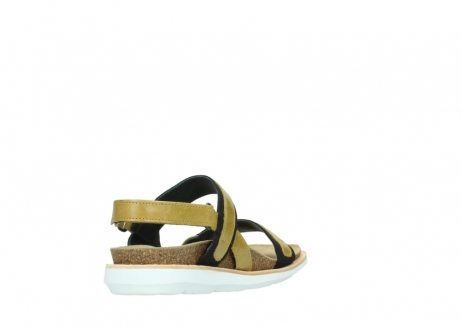 wolky sandalen 08479 dolomite 30920 light yellow leather_9