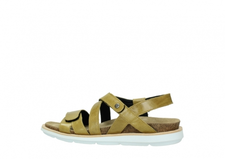wolky sandalen 08480 sunstone 30920 light yellow leather_2
