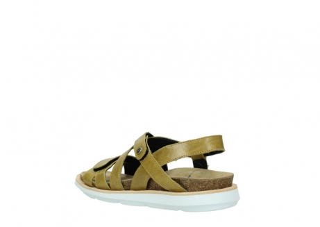 wolky sandalen 08480 sunstone 30920 light yellow leather_4