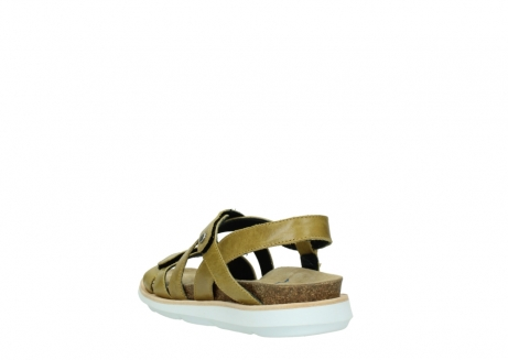 wolky sandalen 08480 sunstone 30920 light yellow leather_5