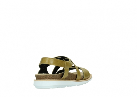 wolky sandalen 08480 sunstone 30920 light yellow leather_9