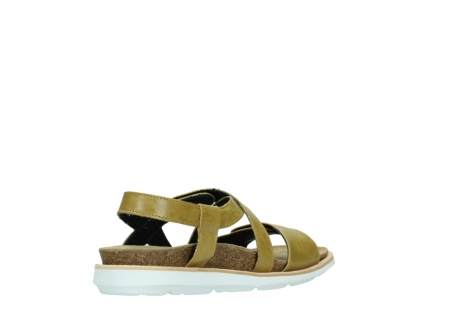 wolky sandalen 08480 sunstone 30920 light yellow leather_10