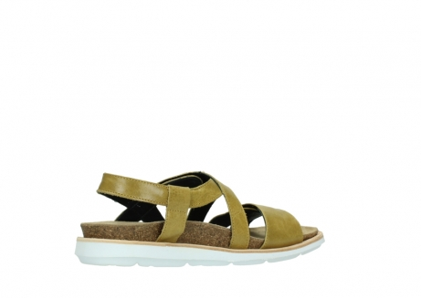 wolky sandalen 08480 sunstone 30920 light yellow leather_11