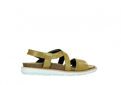 wolky sandalen 08480 sunstone 30920 light yellow leather_12
